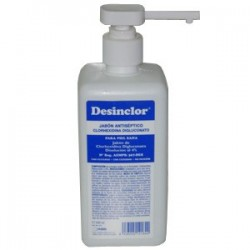 DESINCLOR CON JABÓN 500ML